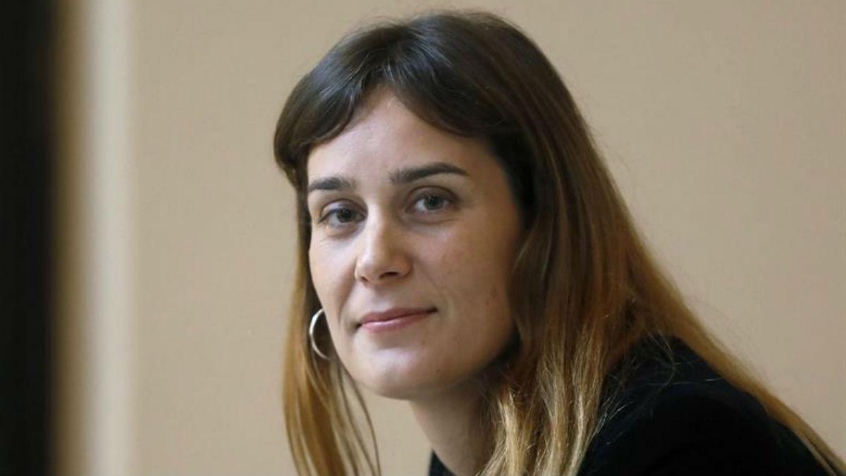 La candidata de Podemos a la Generalitat, Jéssica Albiach.