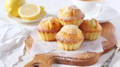 Recetas de magdalenas de limón y naranja