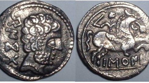 Dos monedas-celtibéricas.