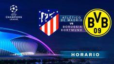 Champions League 2018 – 2019: Atlético de Madrid – Borussia Dortmund | Horario del partido de fútbol de Champions League.