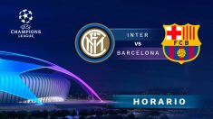 Champions League 2018 – 2019: Inter de Milán – Barcelona | Horario del partido de fútbol de Champions League.