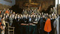 Cuadro que refleja la Paz de Westfalia