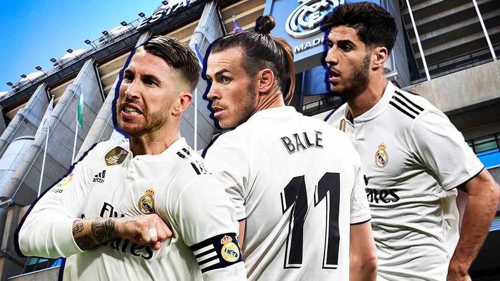 Sergio Ramos, Bale y Asensio fueron pitados en el último partido del Real Madrid en el Bernabéu.