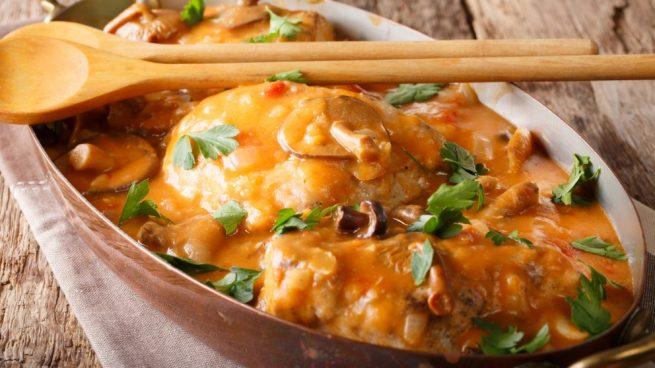 Pechuga De Pollo Con Salsa Agridulce
