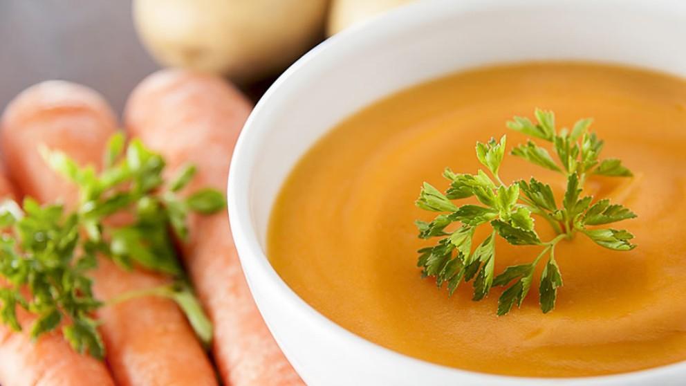 Receta de veganesa de zanahoria