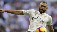 El rendimiento de Karim Benzema le hace agotar su crédito respecto a la cúpula del Real Madrid (AFP).