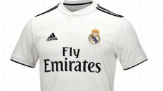 Camiseta del Real Madrid con Adidas.