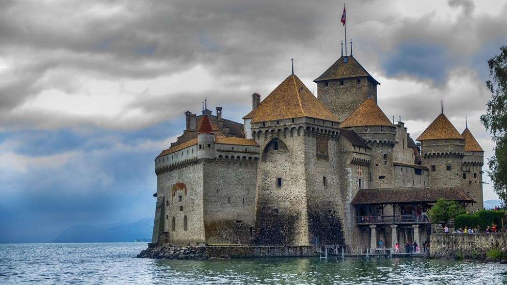 6 curiosidades sobre el Castillo de Chillon en Suiza