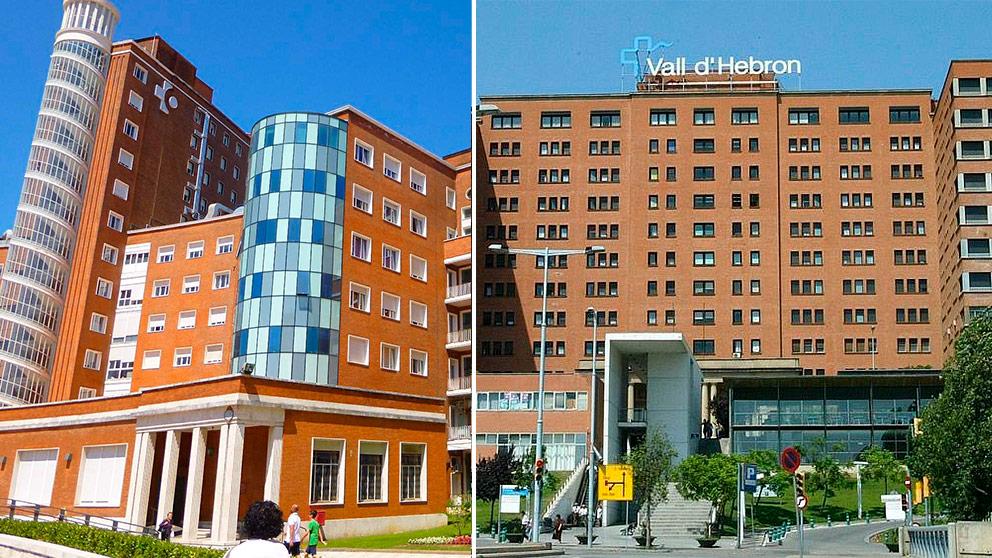 El Hospital Cruces de Bilbao y el Valle de Hebrón de Barcelona