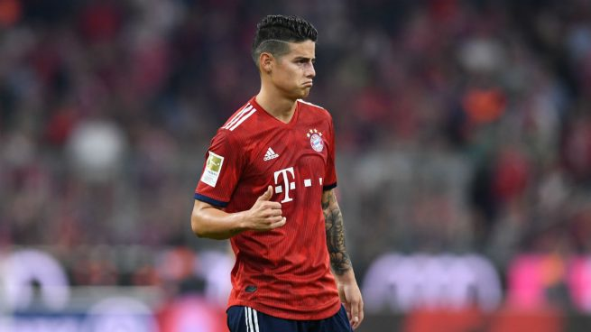 James rechaza al Arsenal