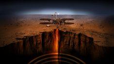 La NASA culmina su misión al núcleo de Marte