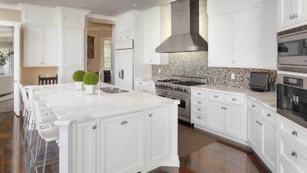 Cómo aprovechar el espacio de una cocina