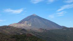 El Teide, la montaña más alta de España.