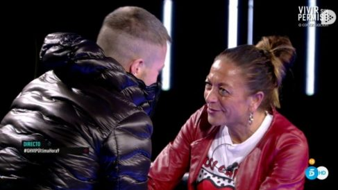 Tony Spina ha recibido a su madre en 'GH VIP 2018'