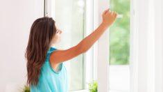 Las ventanas se pueden aislar fácilmente para evitar el frío