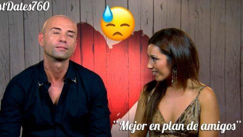 Guillermo y Romina han tenido una cita muy caliente en 'First Dates'