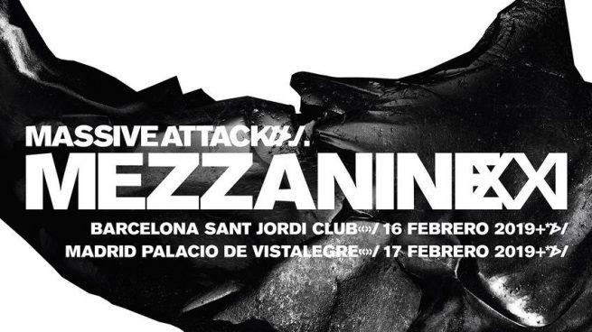 La gira europea de Massive Attack recalará en Madrid y Barcelona durante febrero.