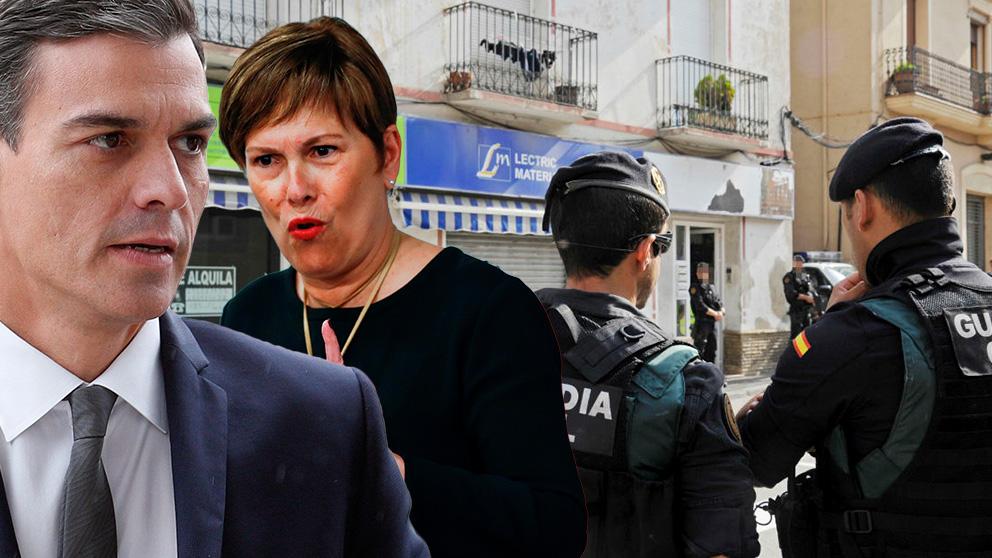 Guardia Civil desmantelada en Navarra