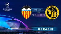 Champions League 2018 – 2019: Valencia – Young Boys | Horario del partido de fútbol de Champions League.