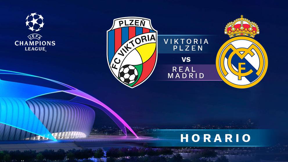 Champions League 2018 – 2019: Viktoria Plzen – Real Madrid | Horario del partido de fútbol de Champions League.