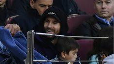 Valverde dejó a Messi fuera de la convocatoria. (AFP)