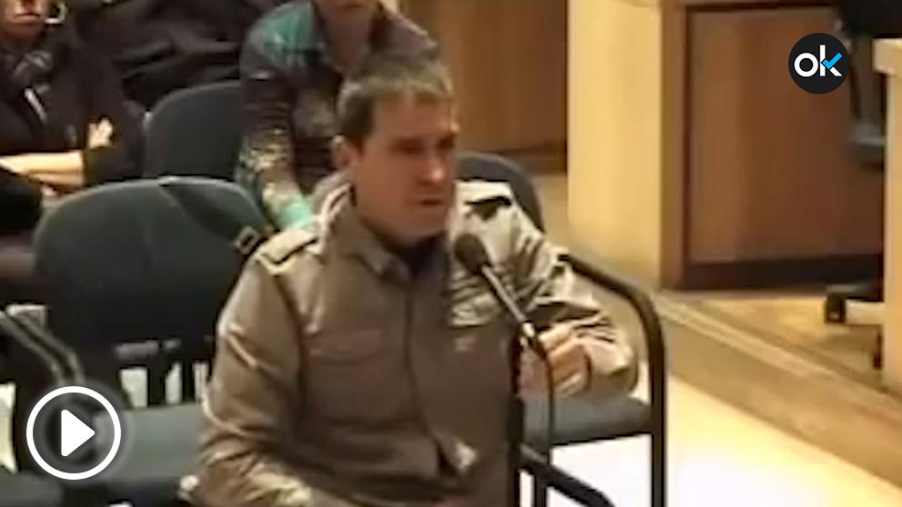 Arnaldo Otegi durante el juicio.