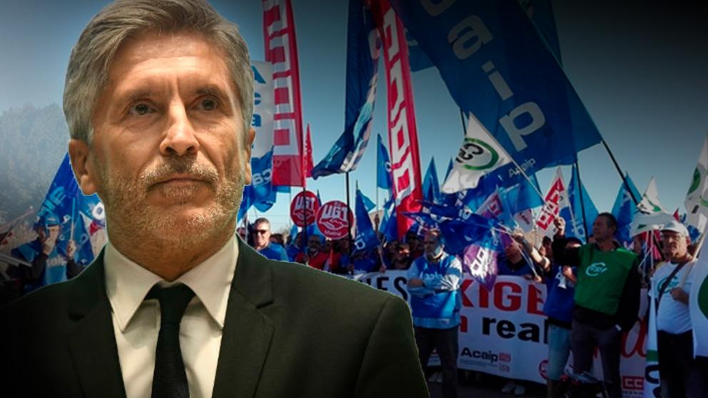 El sindicato señala que el ministerio de Marlaska y el Gobierno les ha dejado vendidos frente al virus.