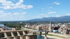 El Ebro a su paso por Tortosa, una de los ríos más importantes de España.