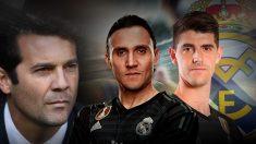 Keylor o Courtois, la gran duda de Solari para el Viktoria – Real Madrid.