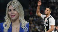 Wanda Nara, mujer de Icardi, critica a Cristiano Ronaldo.