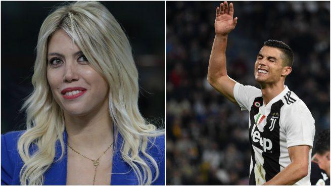 """Wanda Nara ataca a Cristiano: """"Me gustaría verle en el banquillo mientras su equipo marca cinco goles"""""""