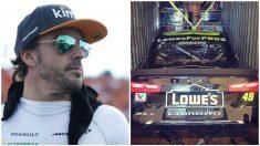 Fernando Alonso tienen ganas de probar un coche de la Nascar en un óvalo.