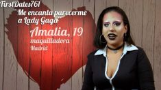 Amalia una invitada algo excéntrica hoy en 'First Dates'