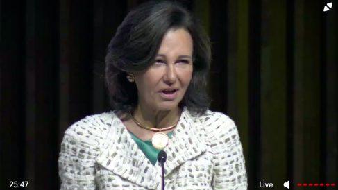 Ana Botín, presidenta del Banco Santander