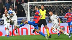 Aytekin, durante el Viktoria Plzen – Real Madrid (AFP).