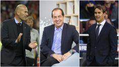 Juan Carlos Cubeiro (en el centro), experto en liderazgo y autor del libro 'Liderazgo Zidane'.