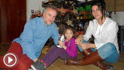 Fernando Blanco, Nadia y Margarita Grau.