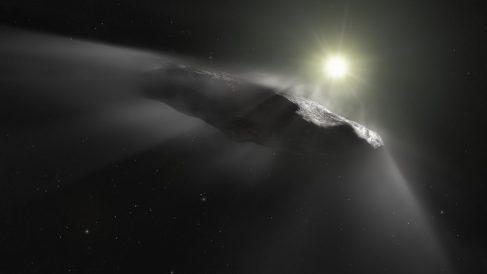 El asteroide Oumuamua podría ser objeto extraterrestre