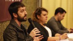 El secretario de comunicación de Podemos, Juanma del Olmo.