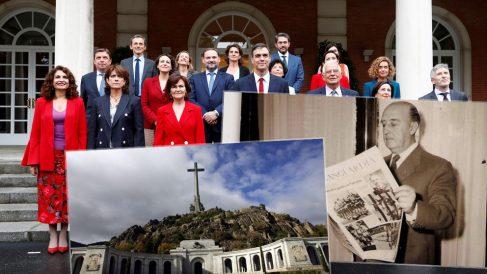 El Gobierno admite la personación de la fundación Franco en la exhumación
