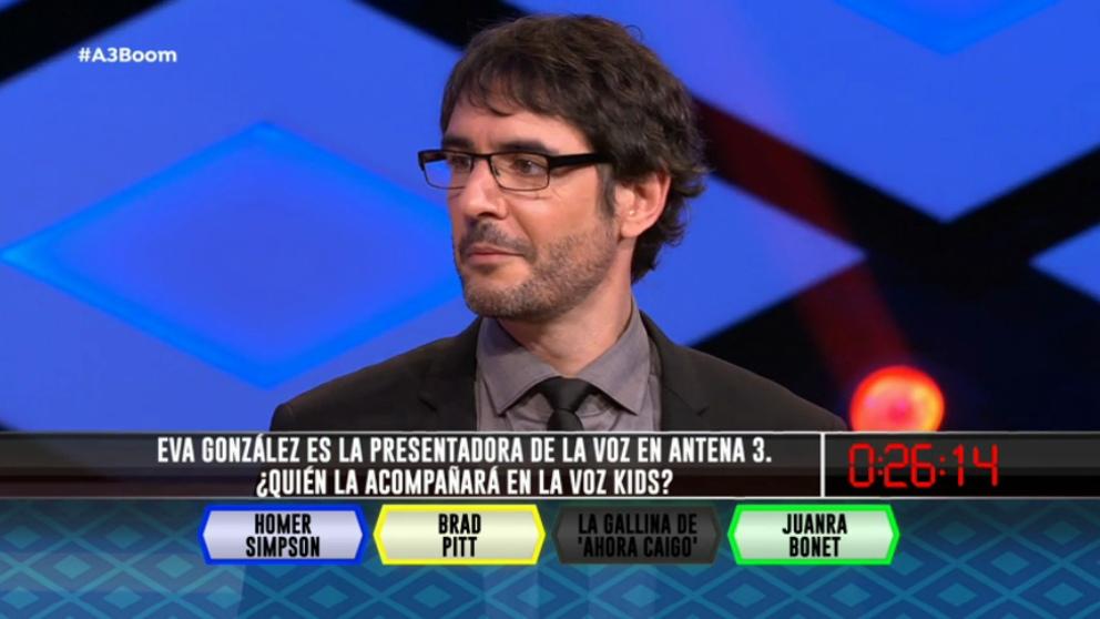 Juanra Bonet estará en 'La voz Kids'. (Foto: Antena 3)