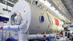 La estación espacial china presentada en Zuhai