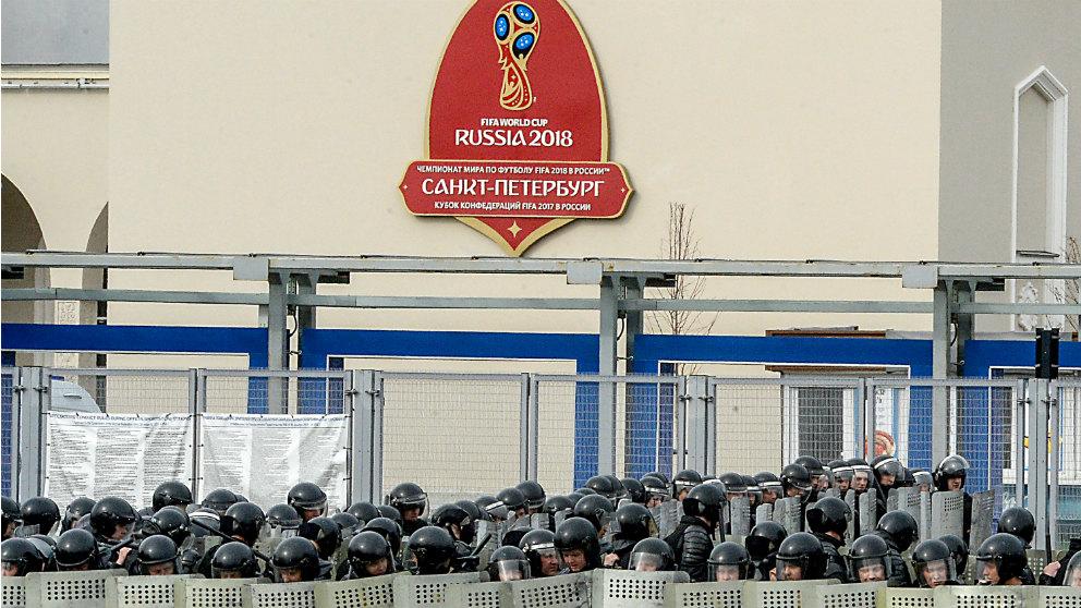 Rusia frenó hasta siete ataques terroristas durante el Mundial. (AFP)