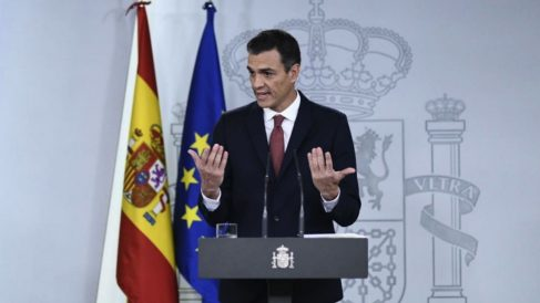 Pedro Sánchez este miércoles (EP).