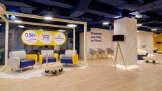 Oficina de Pibank, el banco digital del grupo Pichincha en España