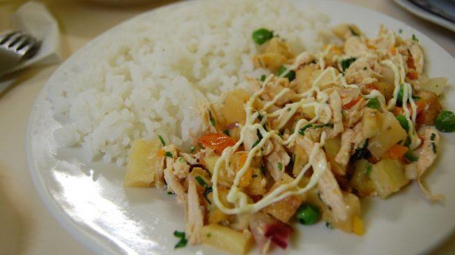 recetas con pechuga de pollo peruanas
