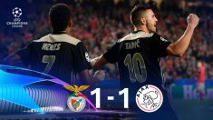 Benfica y Ajax empatan.