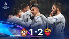 La Roma gana al CSKA de Moscú.