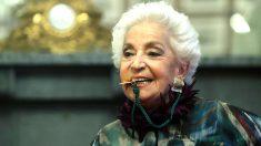 Teresa Berganza en el Círculo de Bellas Artes (Foto: EFE).