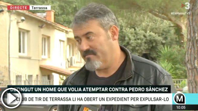Los Mossos detienen a un 'francotirador' que quería atentar contra Pedro Sánchez